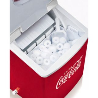 Nostalgia Electrics Limited Edition Coca-Cola Automatic Ice Cube Maker