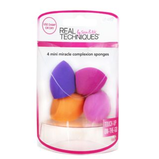 Real Techniques 4-pc. Mini Miracle Complexion Sponges