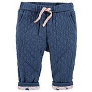 Baby Girl OshKosh B'gosh® Quilted Pull-On Pants