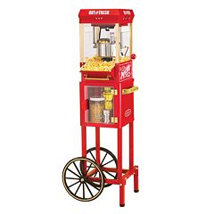 Nostalgia Electrics Vintage Collection Kettle Popcorn Cart