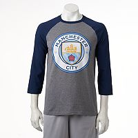 Men's Manchester City FC Raglan Logo Tee