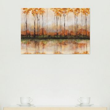 Amanti Art Treeline Canvas Wall Art