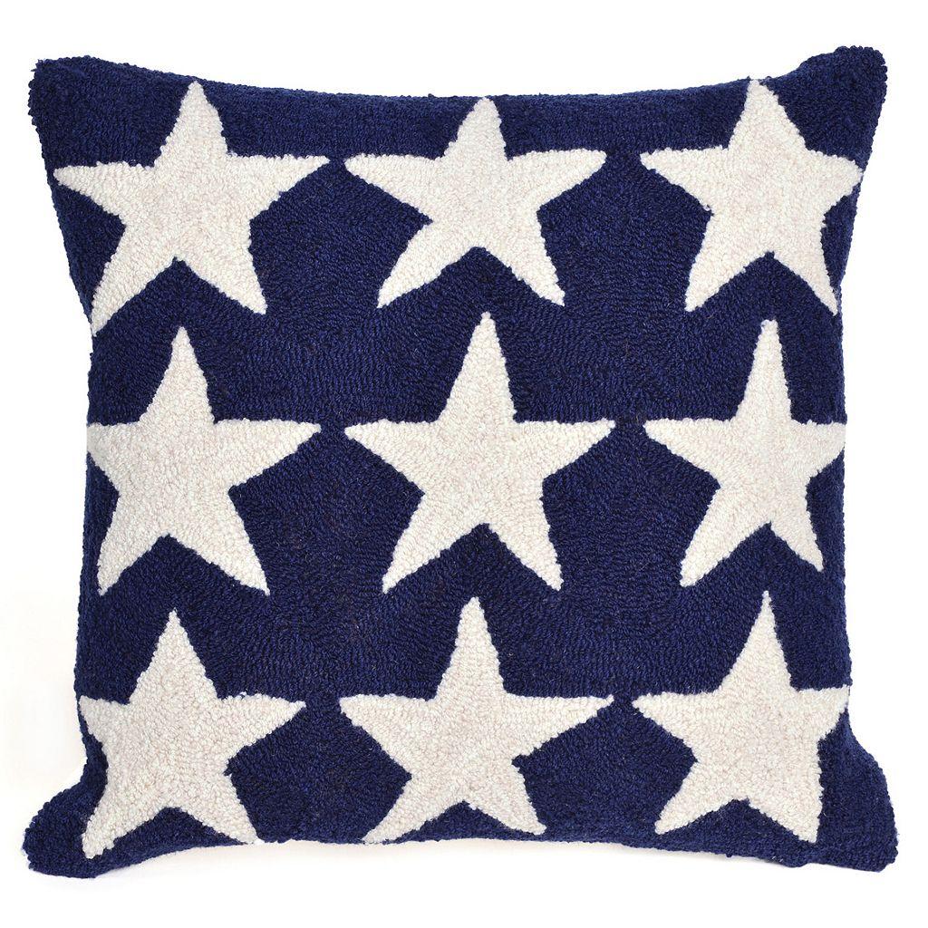 Trans Ocean Imports Liora Manne Stars Indoor Outdoor Throw Pillow