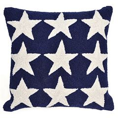 Trans Ocean Imports Liora Manne Stars Indoor Outdoor Throw Pillow