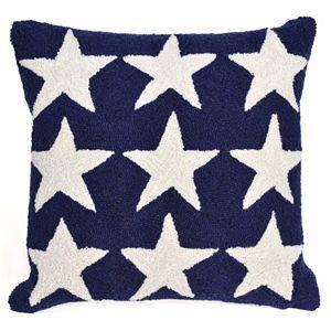 Trans Ocean Imports Liora Manne Stars Indoor Outdoor Throw Pillow\n