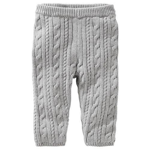 OshKosh BGosh Baby Girls Double-Knit Pull-On Pants