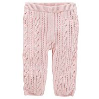 Baby Girl OshKosh B'gosh Cable Knit Sweater Leggings