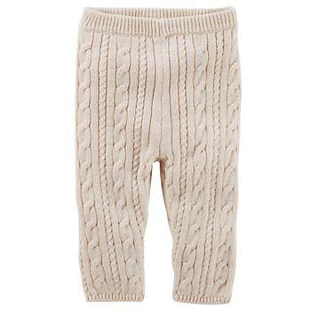 087f09fdfa1a3 Baby Girl OshKosh B'gosh® Heathered Cable-Knit Sweater Leggings