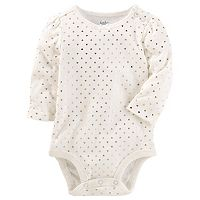 Baby Girl OshKosh B'gosh® Heart Print Bodysuit