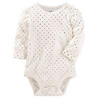 Baby Girl OshKosh B'gosh® Heart Print Bodysuit