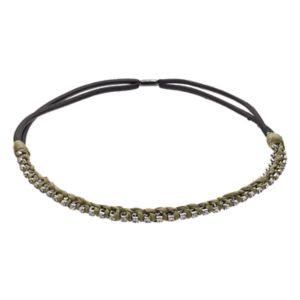 Simply Vera Vera Wang Simulated Crystal Chiffon Headband