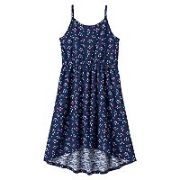 Girls 4-10 Jumping Beans® Lace Cross Back Tank Dress