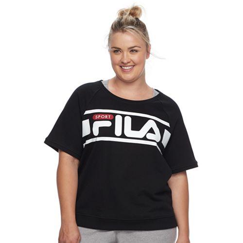 Plus Size FILA SPORT® Logo Sweatshirt