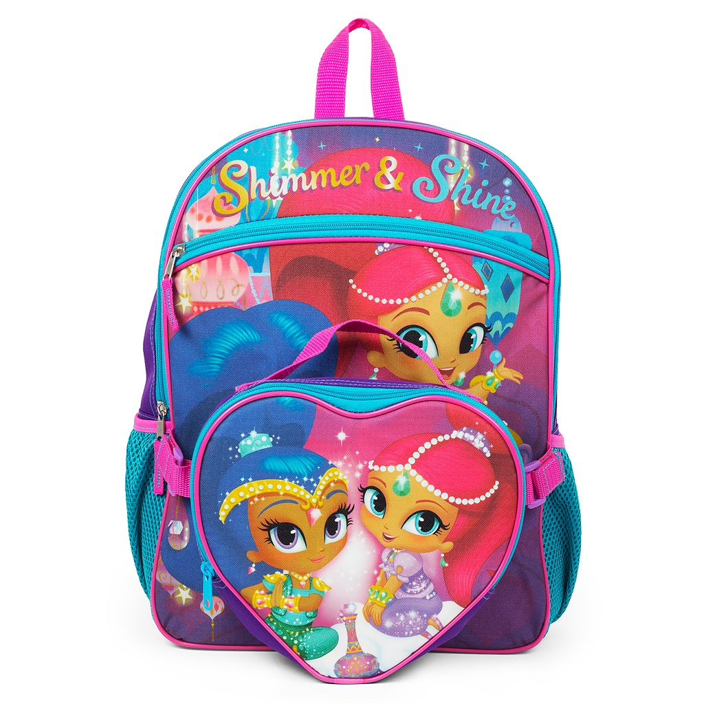 Kids Shimmer & Shine Backpack & Lunch Box Set
