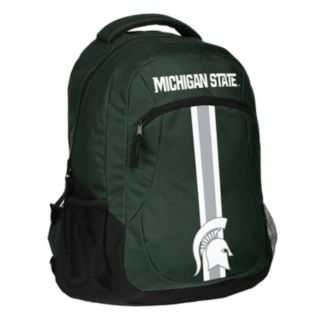 Forever Collectibles Michigan State Spartans Action Stripe Backpack