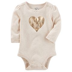 Baby Girl OshKosh B'gosh® 'Best Gift Ever' Heart Bodysuit