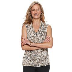 Women's Dana Buchman Knot-Front Top