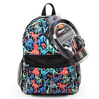 Kids Dinosaur Backpack & Headphones Set