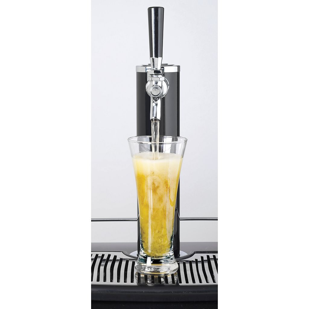 Nostalgia Electrics Full-Size Kegorator Draft Beer Dispenser