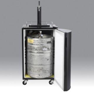 Nostalgia Electrics Full-Size Kegorator Draft Beer Dispenser