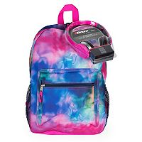 Kids Watercolor Backpack & Headphones Set