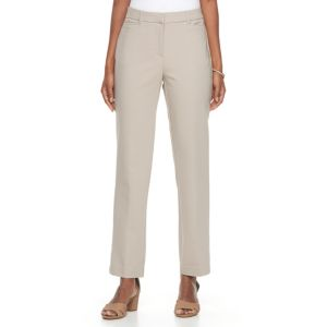 Women's Dana Buchman Slim Straight-Leg Pants