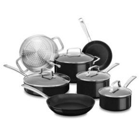 KitchenAid 11-pc. Hard-Anodized Nonstick Cookware Set