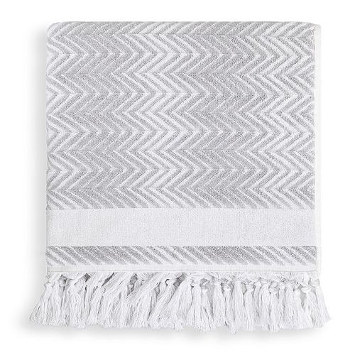 Linum Home Textiles Fringe Washcloth