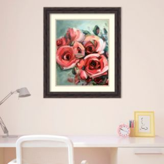 Amanti Art Amid Scent Of Roses Framed Wall Art