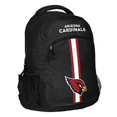 Forever Collectibles Arizona Cardinals Action Stripe Backpack