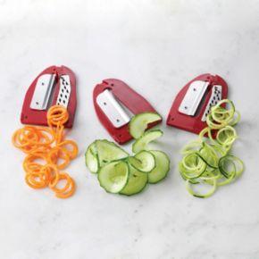 Nostalgia Electrics Retro Series Electric Spiral Twister, Peeler & Potato Chip on a Stick Maker