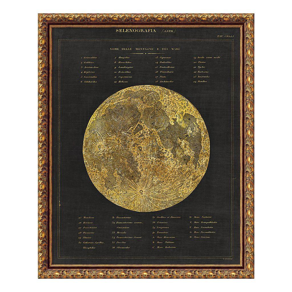 Amanti Art Astronomical Chart I Moon Framed Wall Art