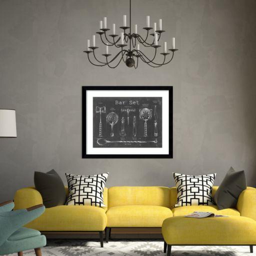 """Amanti Art """"Bar Set"""" Framed Wall Art"""