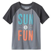 Boys 4-10 Jumping Beans® Raglan Heathered Tee