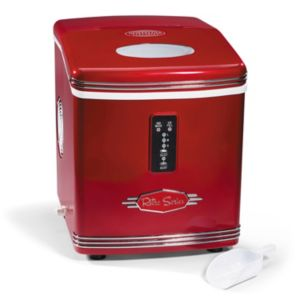Nostalgia Electrics Retro Series 26-lb. High-Capacity Automatic Ice Maker