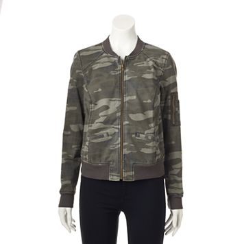 Women' SONOMA Goods for Life™ Camo Bomber Jacket