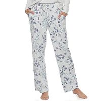 Women's Croft & Barrow® Pajamas: Whispery Clouds Long Pants