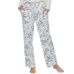 Women's Croft & Barrow® Pajamas: Whispery Clouds Long Pants