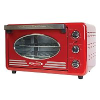Nostalgia Electrics Retro Series 6-Slice Convection Toaster Oven