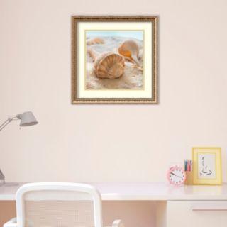 Amanti Art Beachy Shell III Framed Wall Art