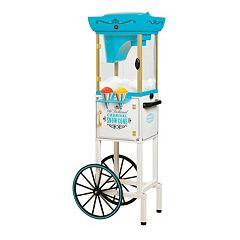 Nostalgia Electrics Vintage Collection Snow Cone Cart with Storage