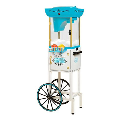 nostalgia snow cone cart instructions