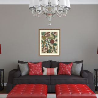 Amanti Art Berry Branch I Framed Wall Art