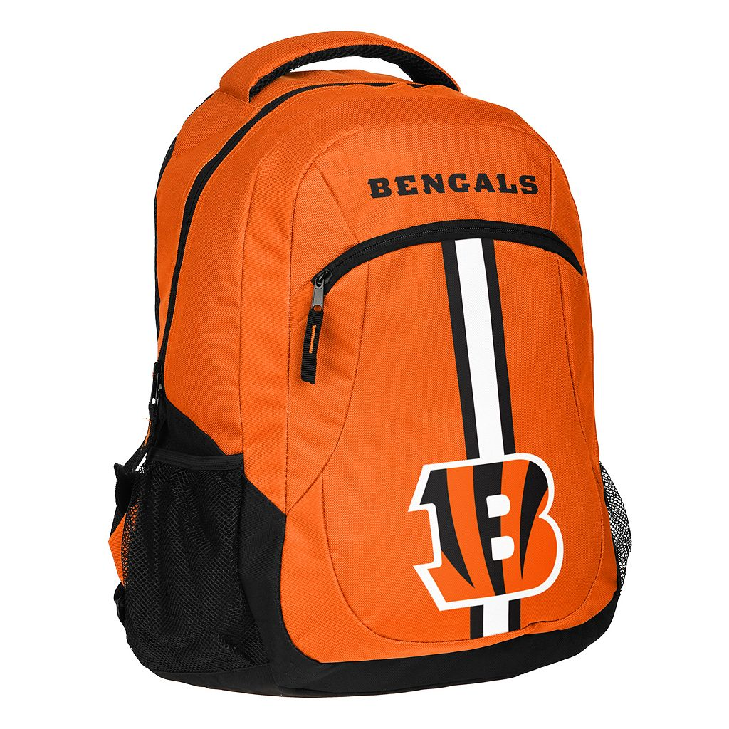 Forever Collectibles Cincinnati Bengals Action Stripe Backpack