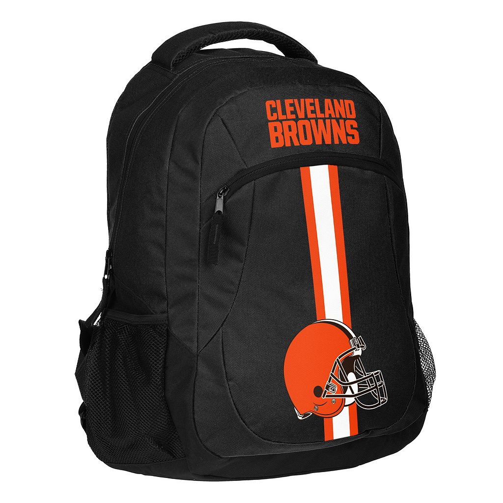 Forever Collectibles Cleveland Browns Action Stripe Backpack