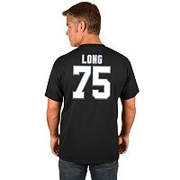 Men's Majestic Oakland Raiders Howie Long Hall of Fame Eligible Receiver Tee