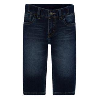 Baby Boy Levi's® Hamilton Deep Blue Knit Pull-On Pants