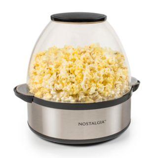 Nostalgia Electrics Stainless Steel Stir-Pop 6-qt. Popcorn Popper