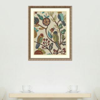 Amanti Art Berry Branch II Framed Wall Art