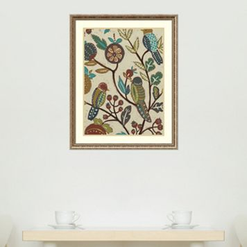 Amanti Art Berry Branch II Framed Wall Art